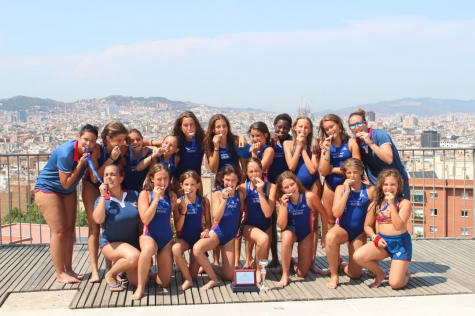 Medalles de plata i de bronze al Campionat de Catalunya de waterpolo Aleví