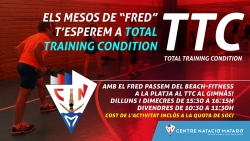 Ampliem dies i horaris del Total Training Condition